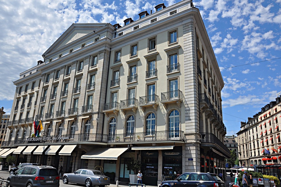 Four Season Hotel Genf Foto: pixabay